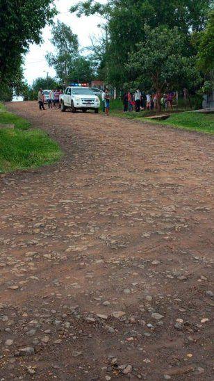 La desgracia ocurrió en el barrio San Miguel Kurusu