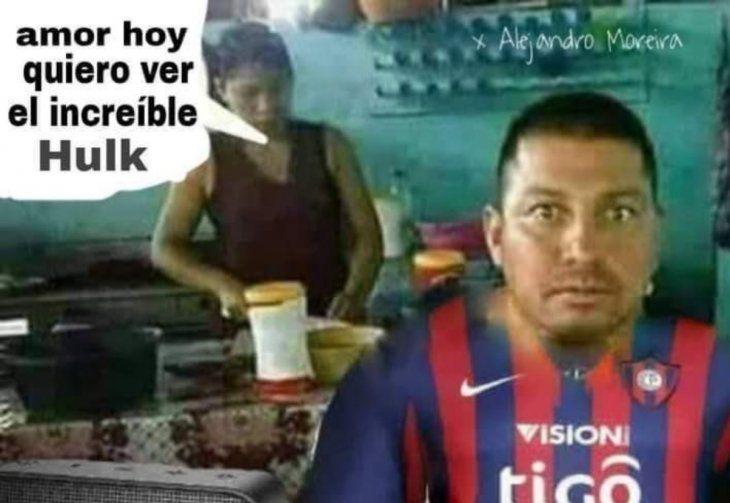 ¡Y los memes no faltaron! Cerro perdió por goleada y en las redes le llovieron burlas. Los memes de Hulk fueron los favoritos.