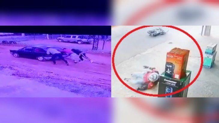 El terrible accidente ocurrió el sábado a la mañana en Ñemby.