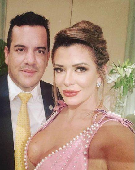 Marly Figueredo y su esposo el senador Rodolfo Friedmann.