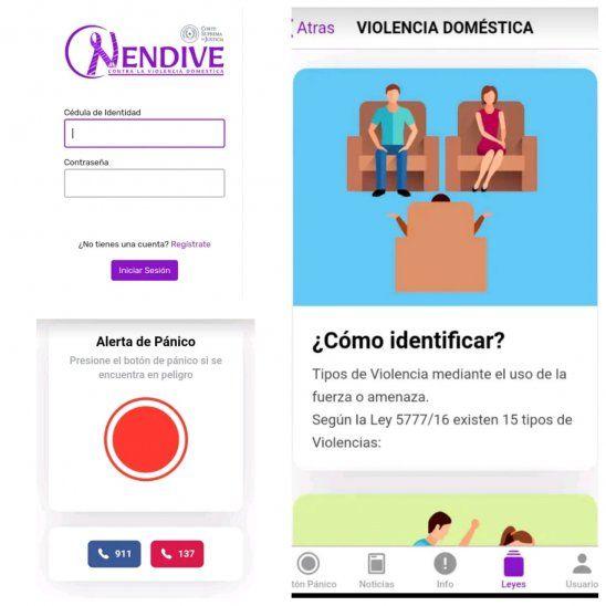 La App de Nendive ya se encuentra en Play Store. Tiene varias funciones que ayudarán a las víctimas de violencia