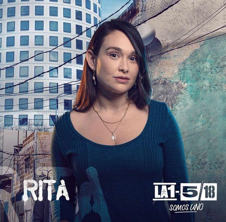 Lali González la rompe en una novela argentina
