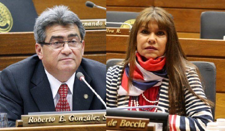 """La diputada Celeste Amarilla lanzó que Roberto González es un misógino y no tiene la preparación para ser legislador. """"Esto para él es normal"""