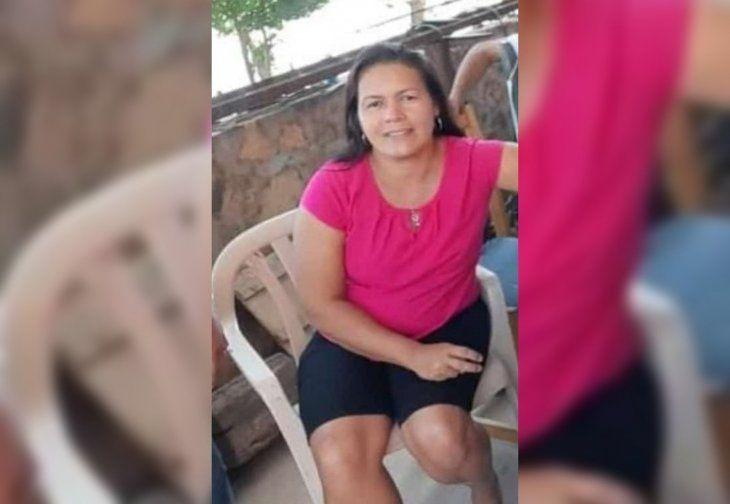 Dominga Molinas fue derivada al centro de salud