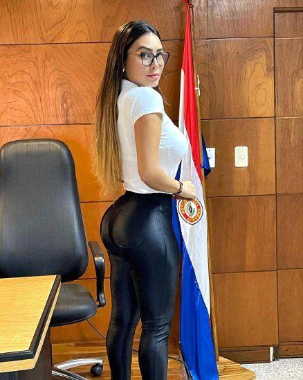 La modelo comentó que una de sus metas es llegar a ser jueza.