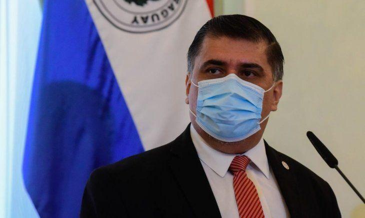 El ministro está cumpliendo con la cuarentena sanitaria.