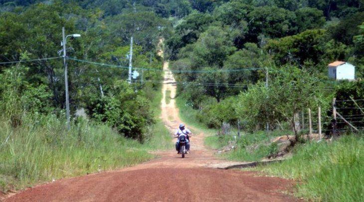 La Colonia Luz Bella de Guayaibí es conocida por estar rodeada de grandes plantaciones de soja de los brasileños. Foto: Sergio Escobar Rober.