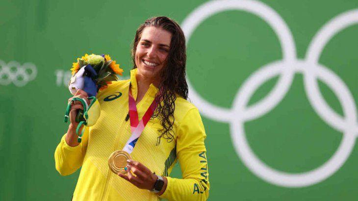 La atleta fue viral tras revelar el suceso que vivió en la competencia.