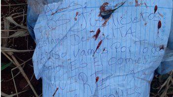 """Un día antes, los """"justicieros"""" mataron en una chopería del barrio Mariscal Estigarribia a Lucas Mateo Martínez Armoa y su novia Anabel Mancuello Centurión, también en Pedro Juan Caballero."""