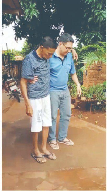 Don Hilario Maciel y su familia no saben cómo pagar la luz. Habían fraccionado la deuda que se le acumuló