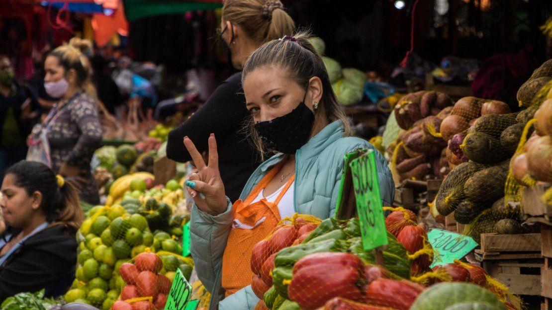 Vendedora del Mercado 4.