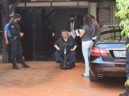 Los agentes del Ministerio Público y la Policía ingresaron a la vivienda de Friedmann en Villarrica pero no pudieron terminar el allanamiento porque el empresario dijo que no se sentía bien.