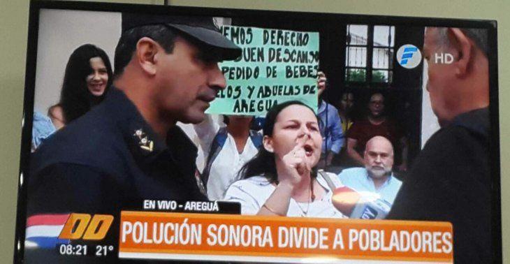 En Areguá se enfrentan los pro y contra polución sonora