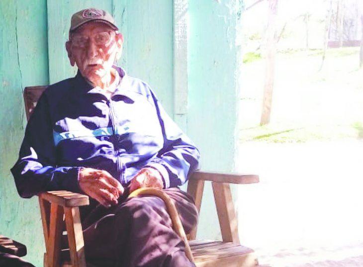 Don Ramón Caballero era el último héroe de la Guerra del Chaco en Concepción. Ayer