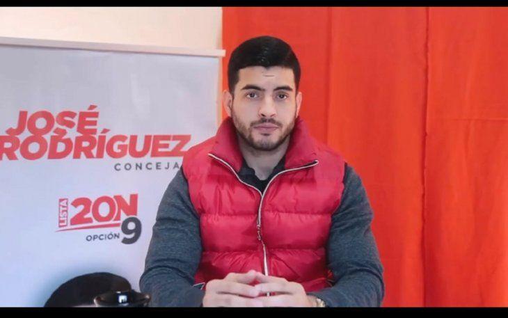 José Rodríguez asegura que los golpes Gladys se los hizo en un accidente a bordo de su auto.