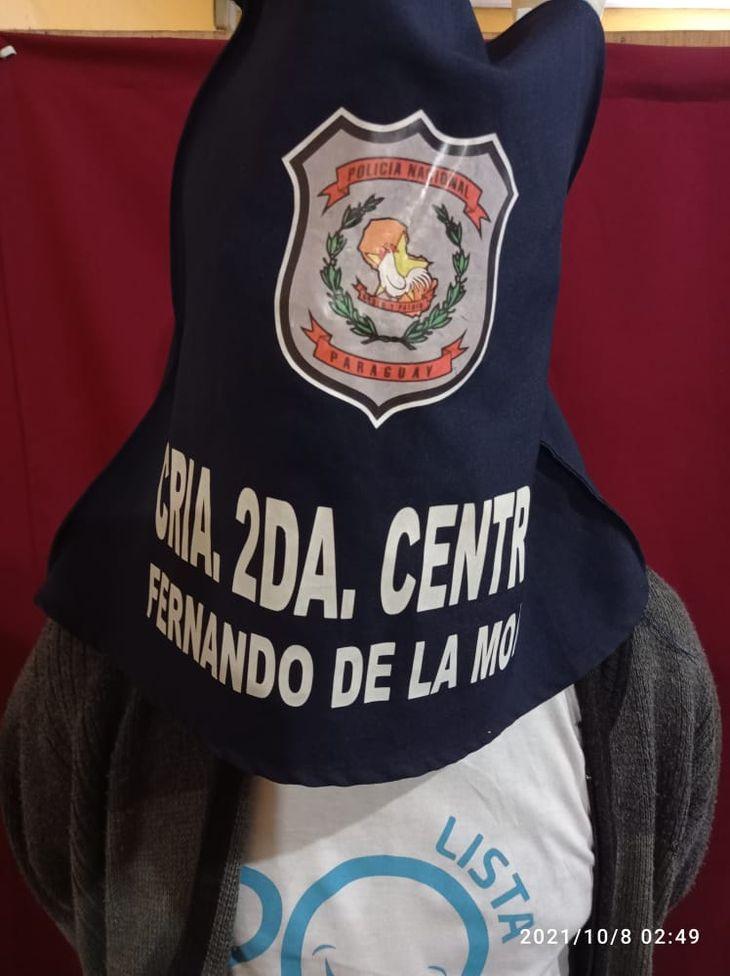 El detenido fue identificado como Miguel Ángel Valenzuela Cáceres