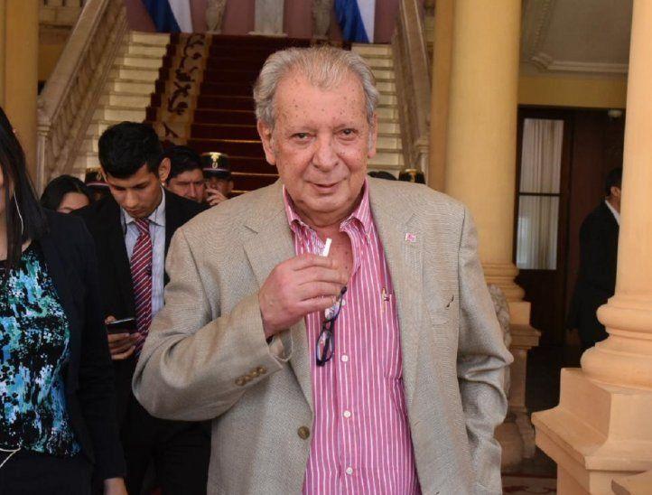 El senador Juan Carlos Galaverna.