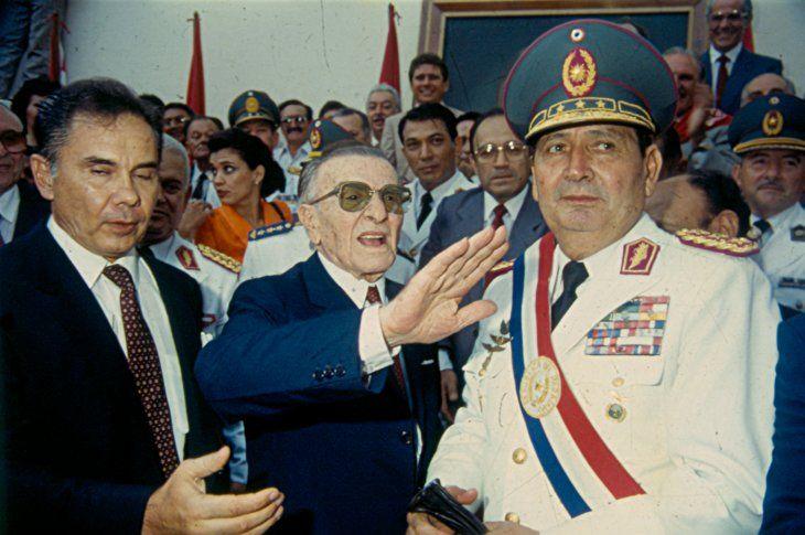 El general Andrés Rodríguez