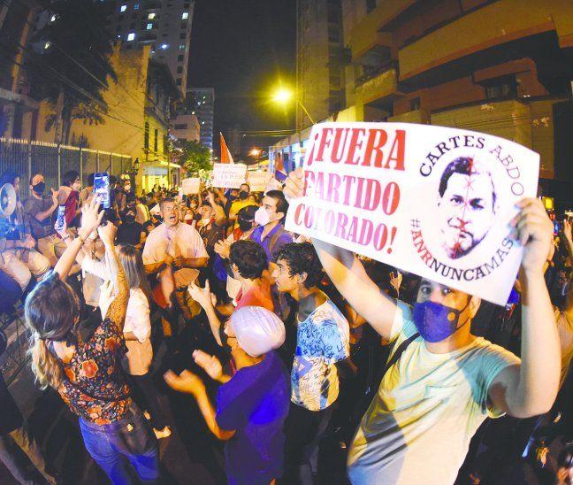 Las manifestaciones volvieron