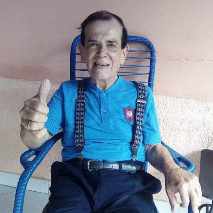 Carlitos Vera está en terapia intensiva