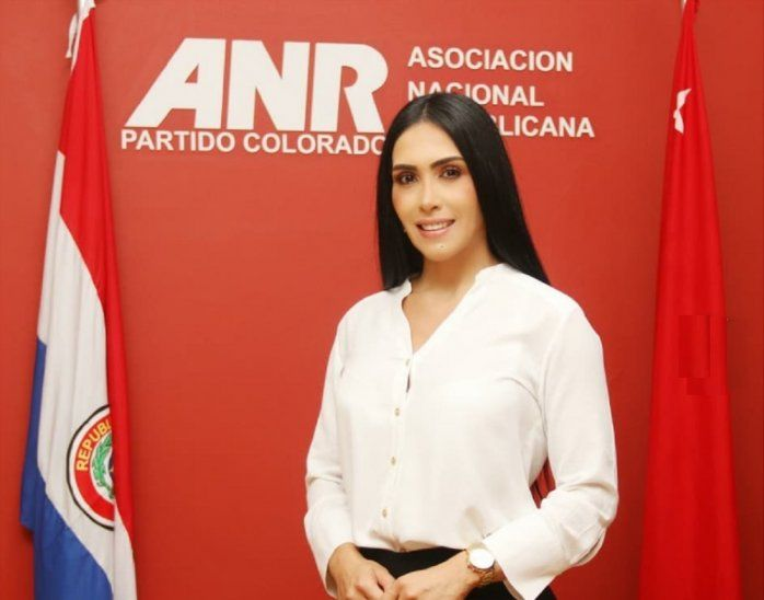 Rossana anunció que pugnará por un lugar en la Junta Municipal de San Lorenzo.