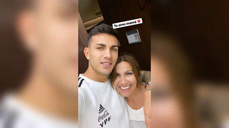 Miriam Paredes está orgullosa de su hijo