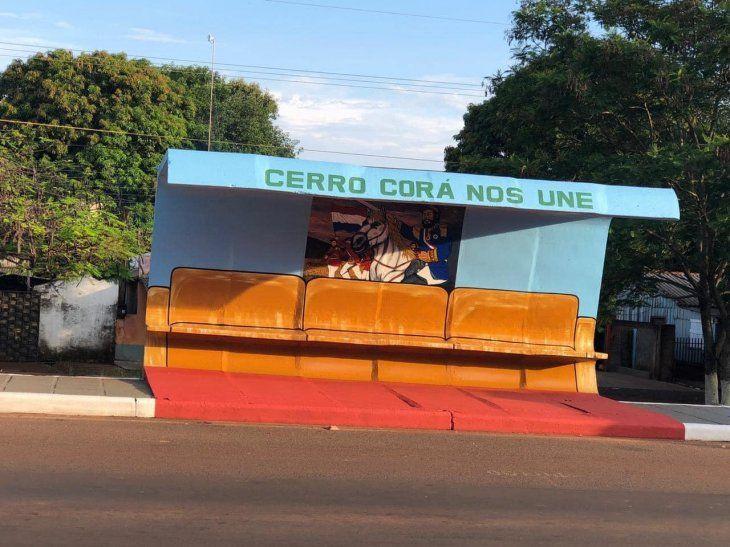 El Municipio de Cerro Corá fue creado recientemente.