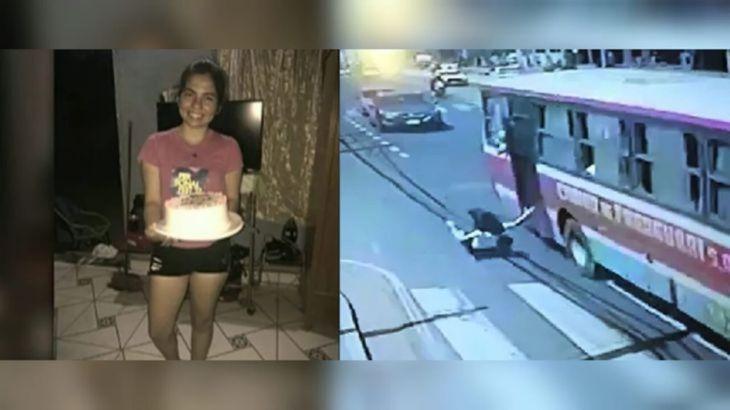 Liz Vera cayó del colectivo tratando de perseguir a un ladrón que le robó el celular.