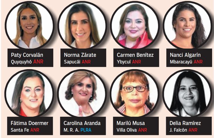 Las mujeres electas para gobernar