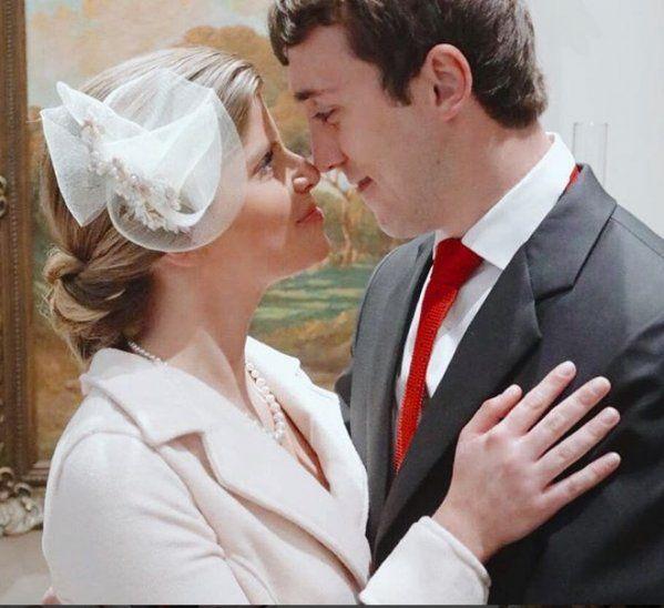 La hija del expresidente había dicho que quería casarse en la Fase 4