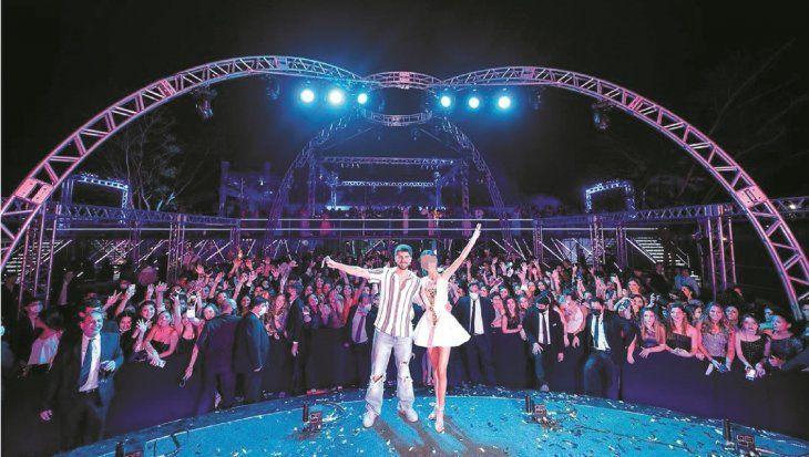 En la fiesta actuaron el grupo uruguayo Rombai y mezclaron los Djs nacionales Hallam