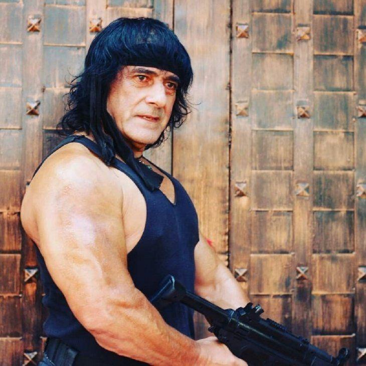 El Rambo Paraguayo aseguró que vive en la selva