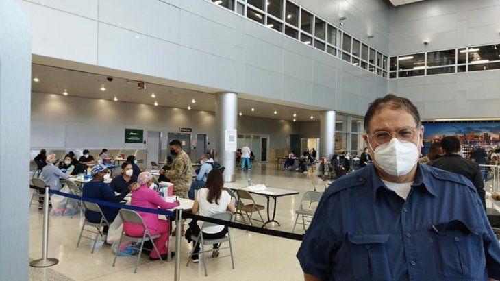 Benjamín Fernández Bogado fue a Miami para ligar la vacuna.