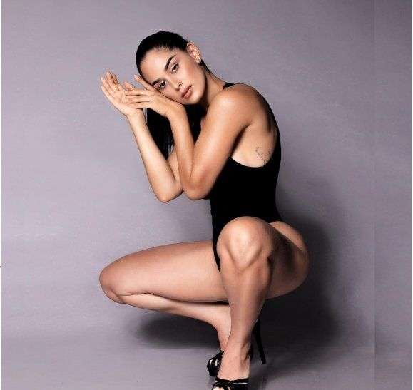 Fabi mencionó que pasó de todo siendo una modelo joven