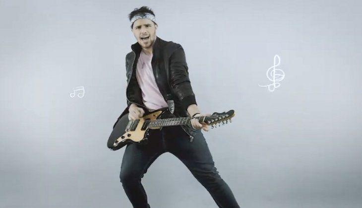 Rubén García lanza su primera canción y videoclip Verte reír