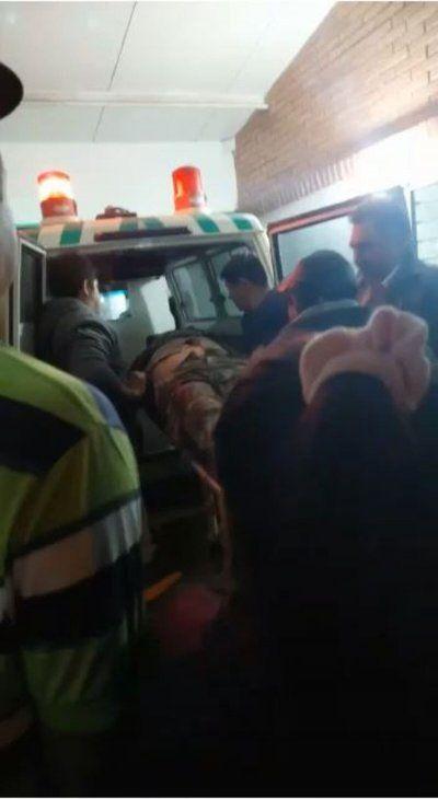 Un video del momento en que una de las víctimas del atentado