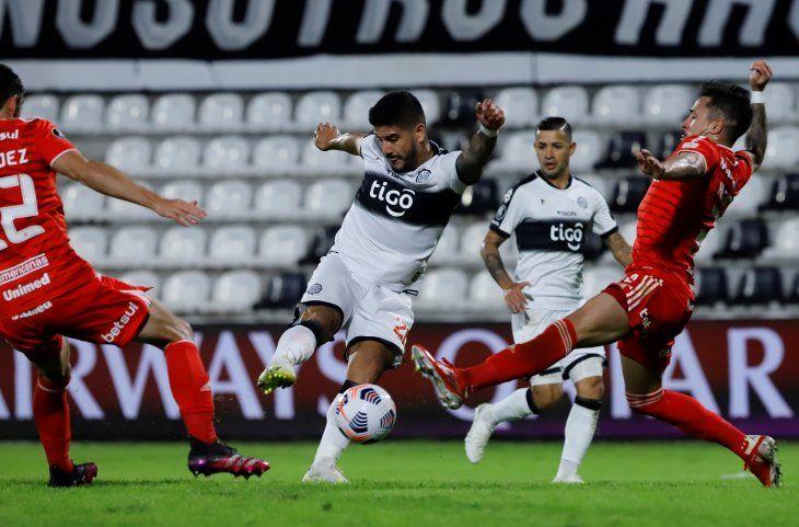 En la ida Olimpia empató 0 a 0 con Inter en el Manuel Ferreira.
