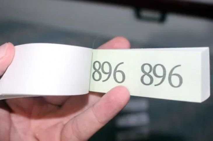 Con la boleta se asegurarán de que ingrese la cantidad exacta de visitantes.