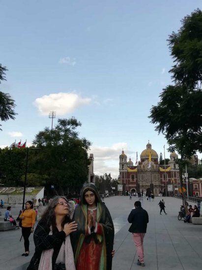 Paraguayas rescataron imagen de la Virgen de Guadalupe