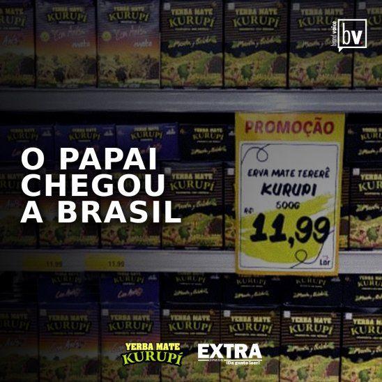 La marca se encuentra fuertemente en el estado de Paraná con el 85% de las ventas en las principales cadenas de supermercados.