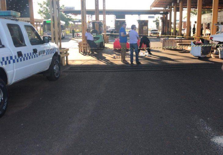 Los paraguayos están hace 8 días varados en la frontera. (Iustración).