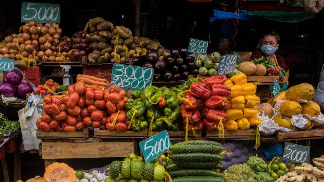 Mercado 4 en plena pandemia