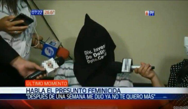 Valerio Verón (71) confesó que disparó a la mamá de sus hijos.