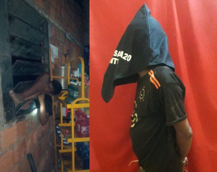 ¡Acusado! Un joven de 19 años quedó atrapado en el balancín de un taller. Ola de robo a nivel país.