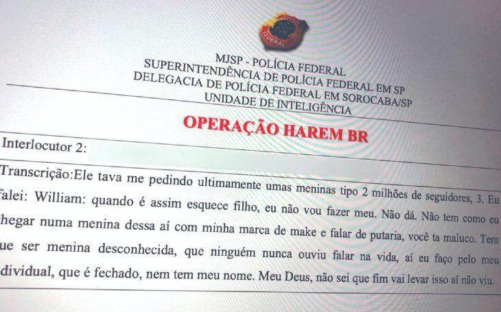 "Operación Harén: ""Últimamente me pregunta por chicas con 2 millones de seguidores"