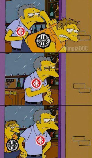 Olimpia buscará la revancha contra el Inter de Porto Alegre.